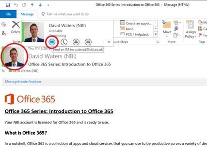 Skype for Business - NBI AC UK